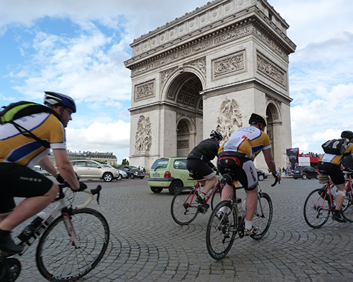 London to Paris bike ride charity challenge
