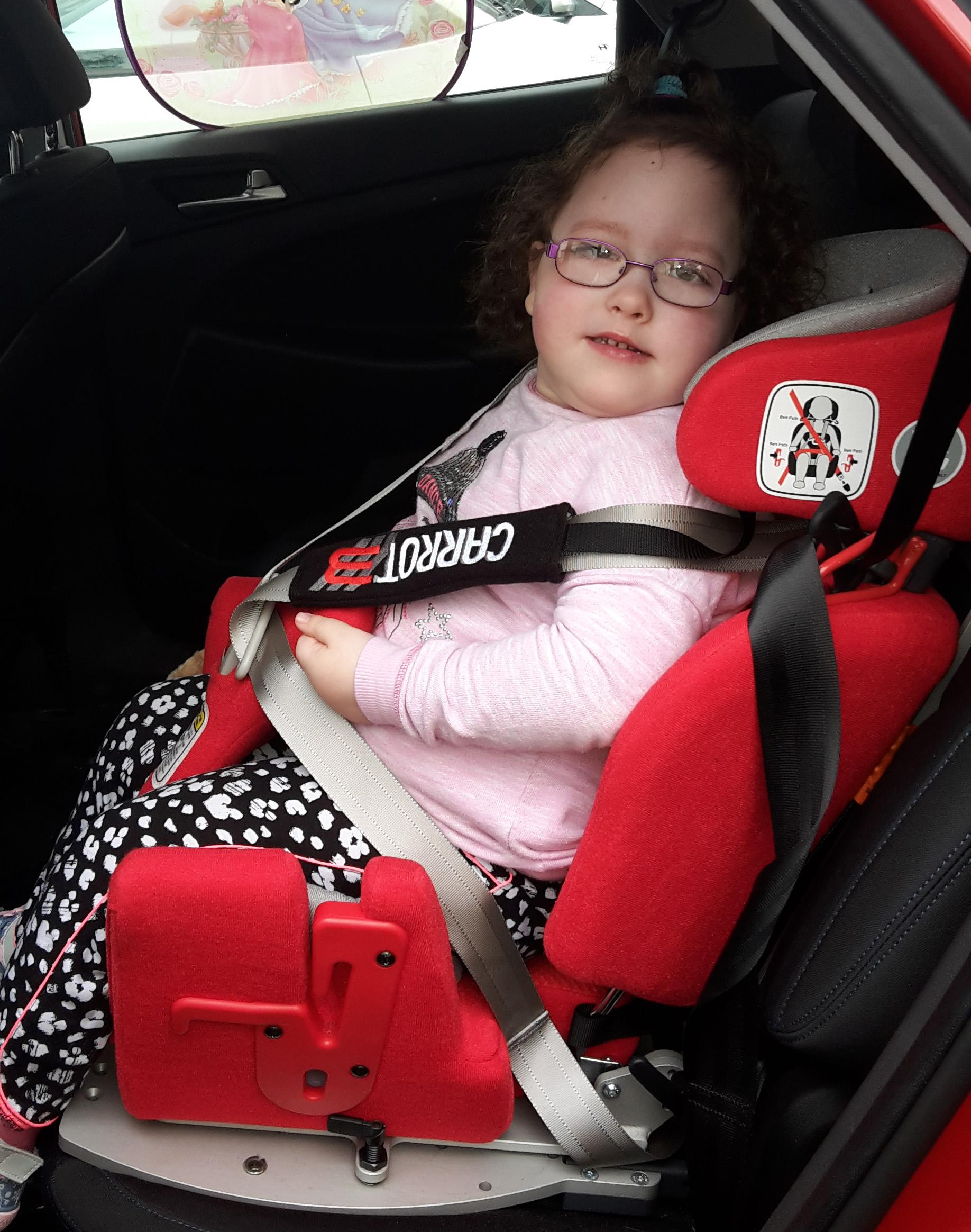 Gemma's Car Seat