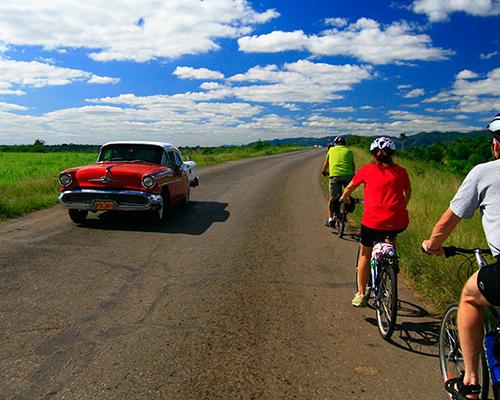 Cycle across Cuba