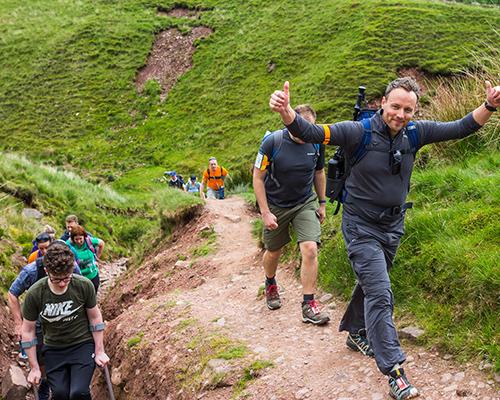 Trekfest Brecon Beacons charity walk