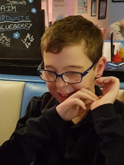 Harley's fundraising page
